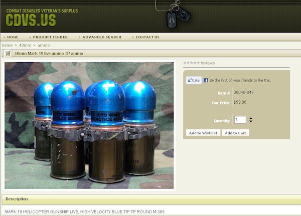 HotBrass.tv 40mm for the M203 and M79 grenade launchers